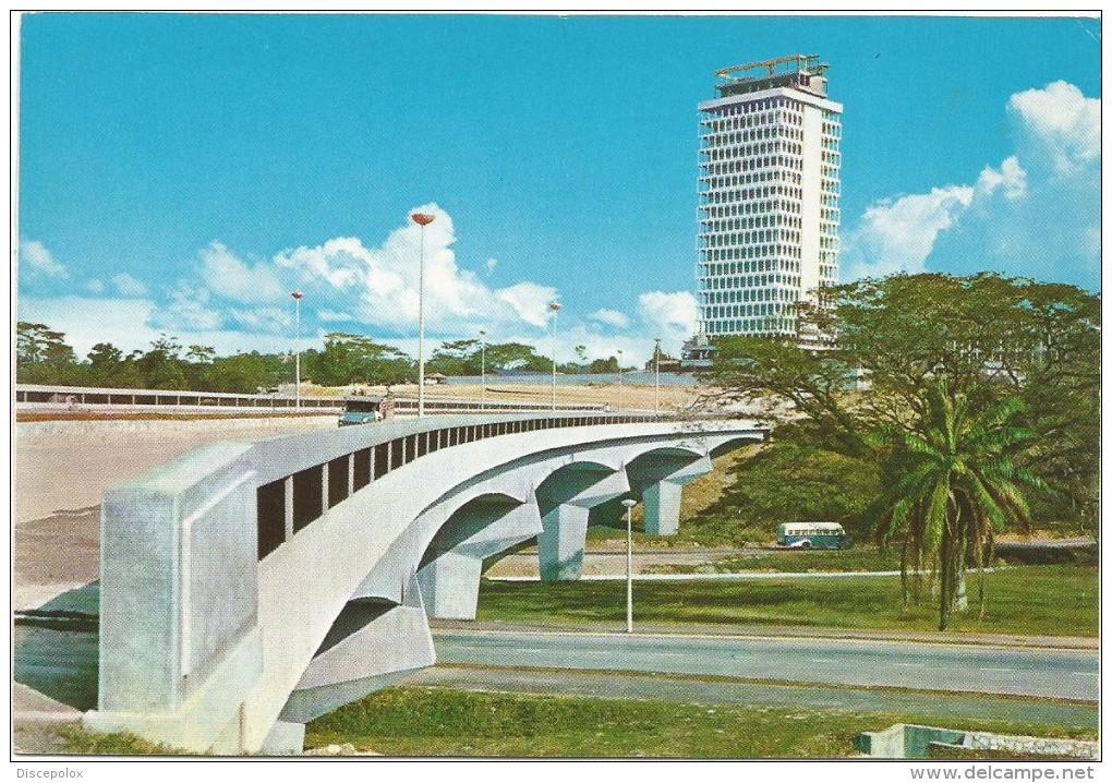 R2367 Kyala Lumpur - National Parliament House View From Overhead Bridge / Non Viaggiata - Malesia
