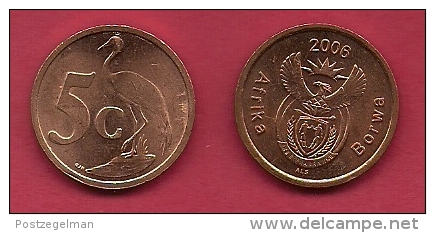 SOUTH AFRICA, 2006, 5 X 5 Cent Coin, One Of The Year Offered And 4 Years To My Choice C2140 - South Africa
