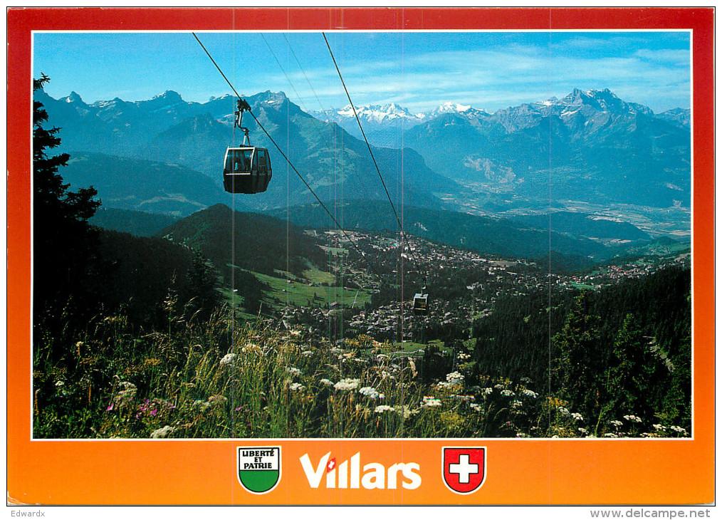 Villars-sur-Ollon, VD Vaud, Switzerland Postcard Posted 2005 Stamp - VD Vaud