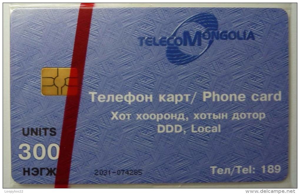 MONGOLIA - Chip - 300 Units - MON-8 - Mint Blister - Mongolei