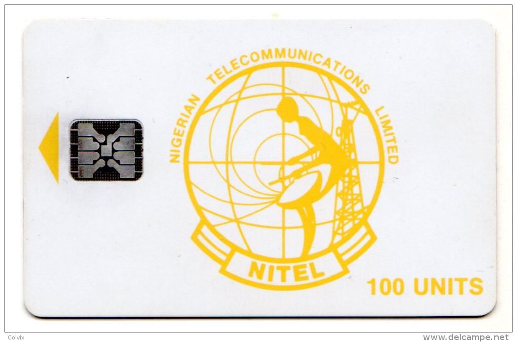 NIGERIA REF MV CARDS NGA-08 NITEL 100 U N° De Lot 44148 - Nigeria