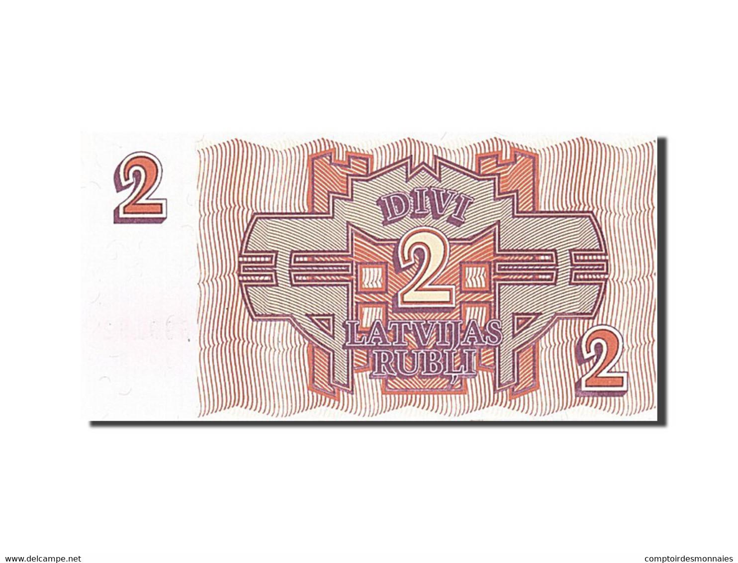 Latvia, 2 Rubli, 1992, 1992, KM:36, SPL - Lettonie