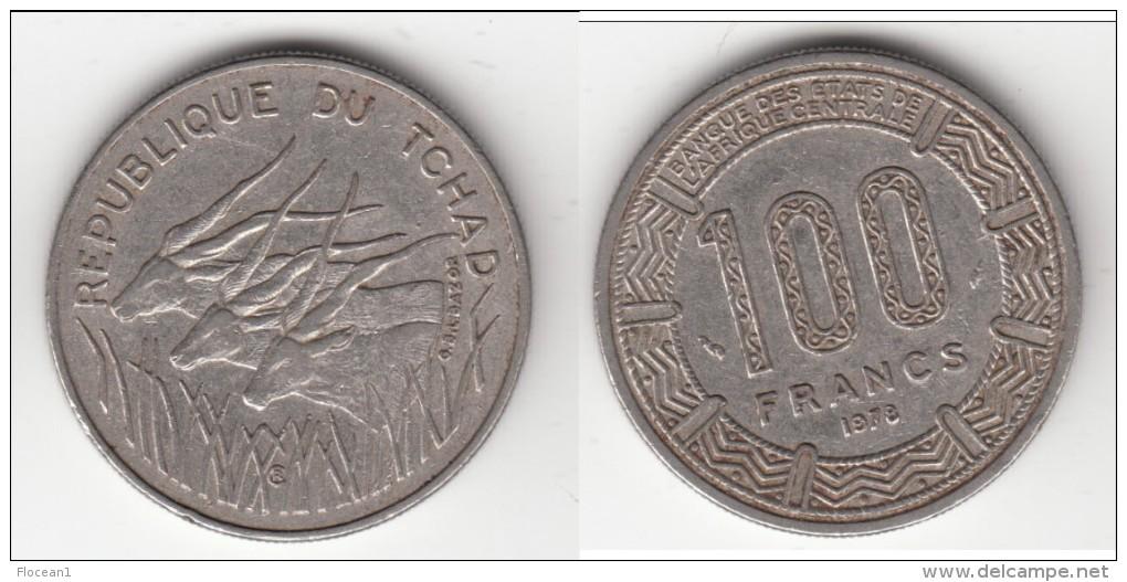 **** TCHAD - CHAD - REPUBLIQUE DU TCHAD - 100 FRANCS 1978 **** EN ACHAT IMMEDIAT !!! - Tsjaad