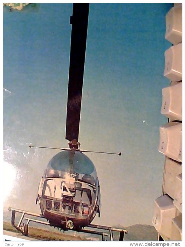 ELICOTTERO AUGUSTA BELL 47 G AEREONAUTICA MILITARE HELYCOPTERE HELICOPTER VB1972  FO4200 ABRASA IN ALTO - Elicotteri