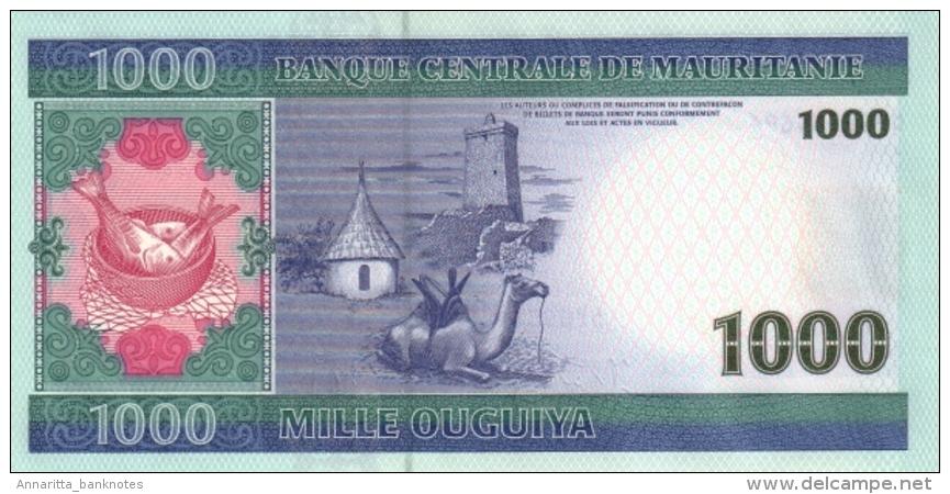 MAURITANIA 1000 OUGUIYA 2006 P-13b UNC  [MR117b] - Mauritania