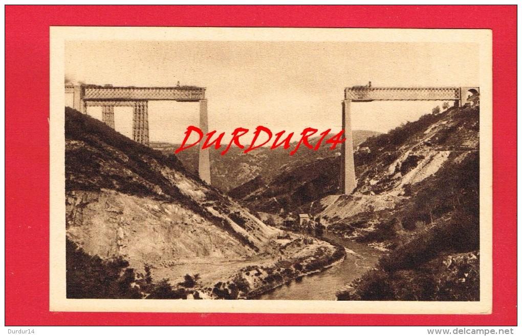 Puy-de-Dôme ...  Le Viaduc Des FADES ..... ( En Construction ... Avec Un Petit Historique ...) - France
