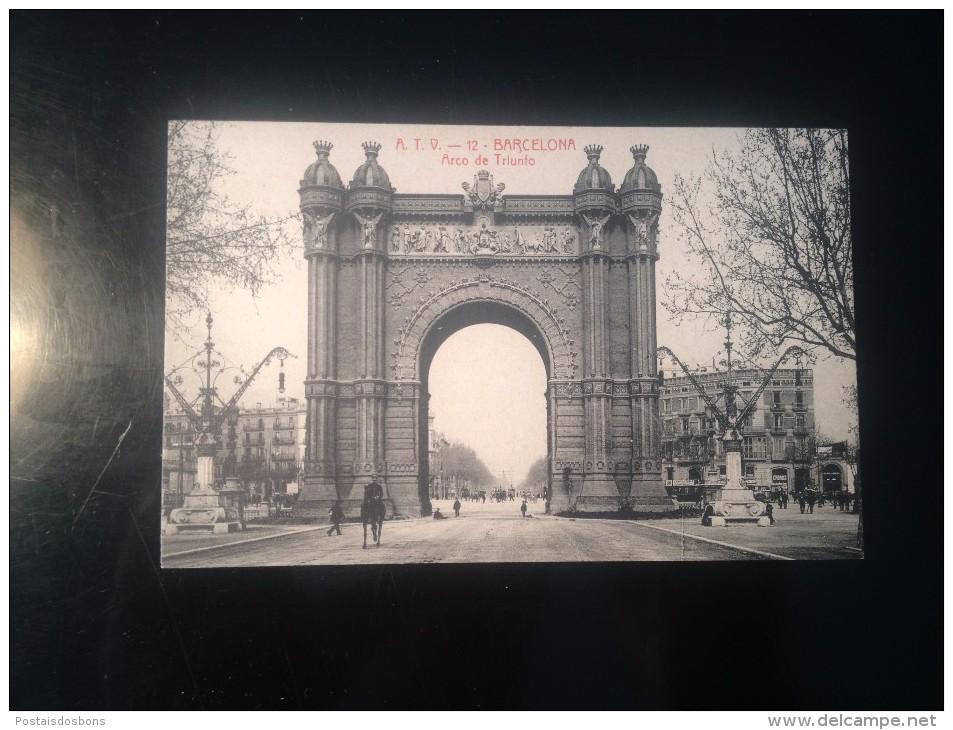 1759) España Spain Barcelona Arco De Triunfo Ed. Angel T. Viazo - Barcelona