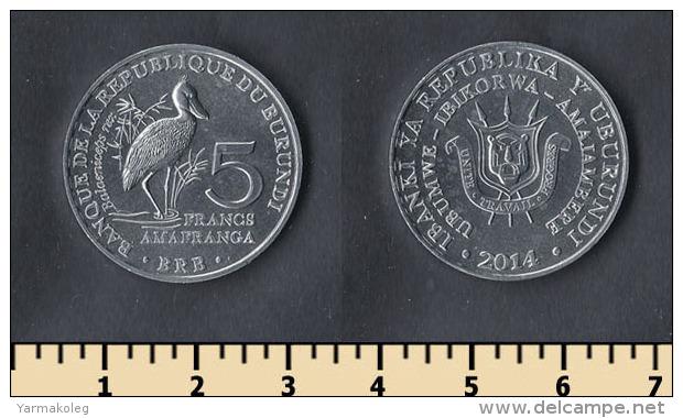 Burundi 6 Coins Set 2014 - Burundi