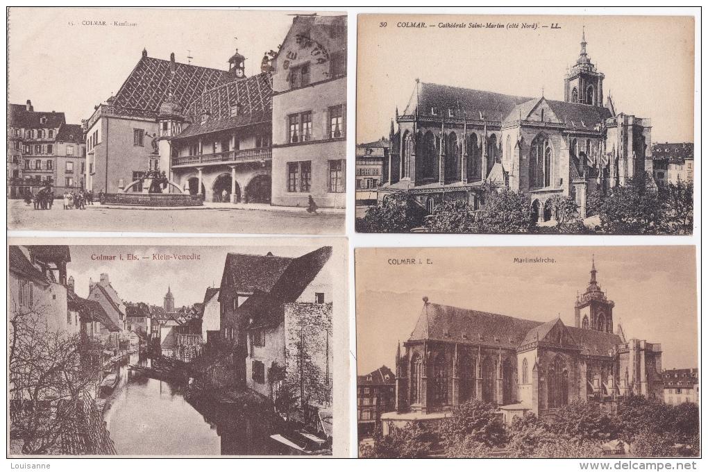 16 / 8 / 312  -  LOT  DE  20  CPA  DE  COLMAR  (  68 )  Toutes Scanées - 5 - 99 Cartes