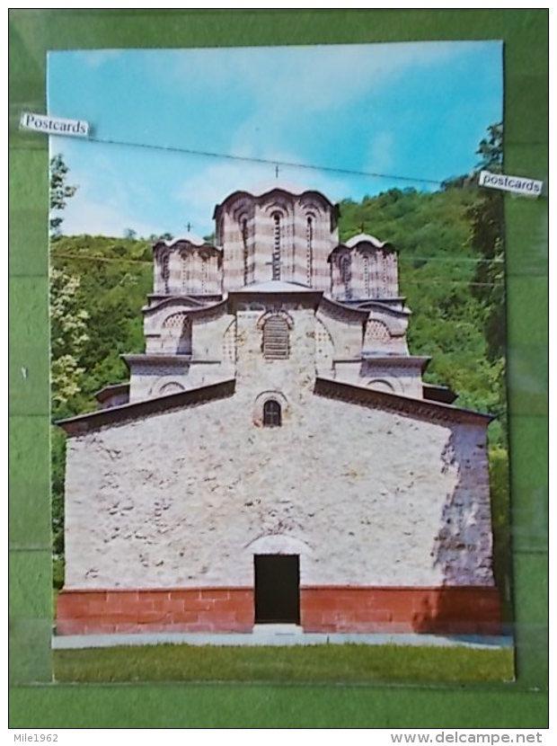 KOV 584 - MANASTIR RAVANICA, CUPRIJA, MONASTERY ORTHODOX - Serbie