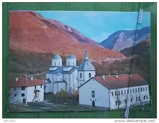 KOV 585 - MANASTIR MILESEVA, PRIJEPOLJE, MONASTERY ORTHODOX - Serbie