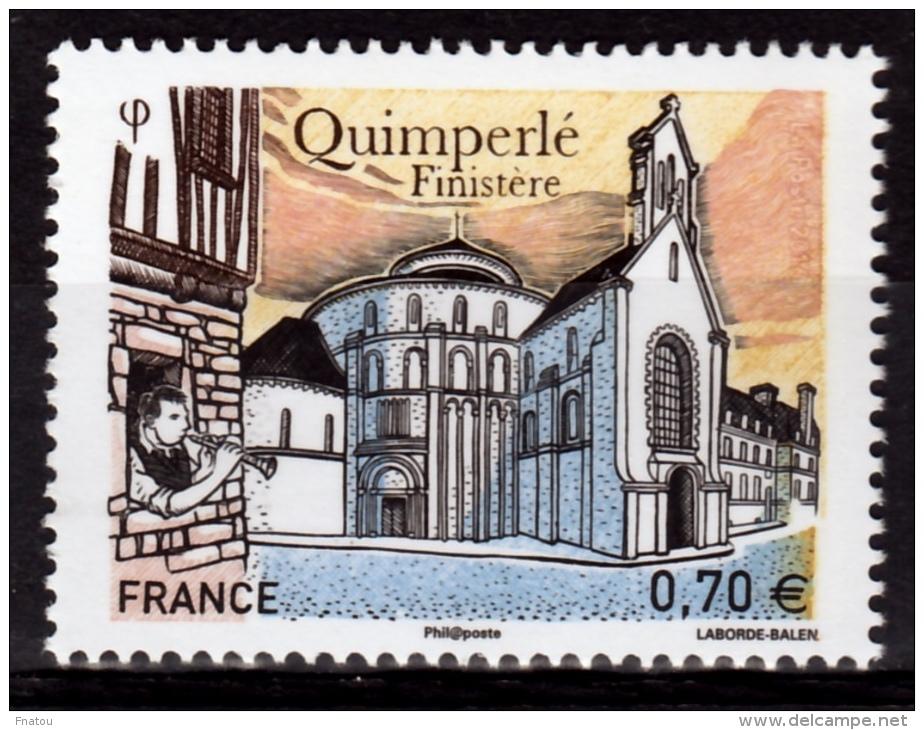 France, Quimperlé, Finistère, Brittany, 2016, MNH VF - Nuovi