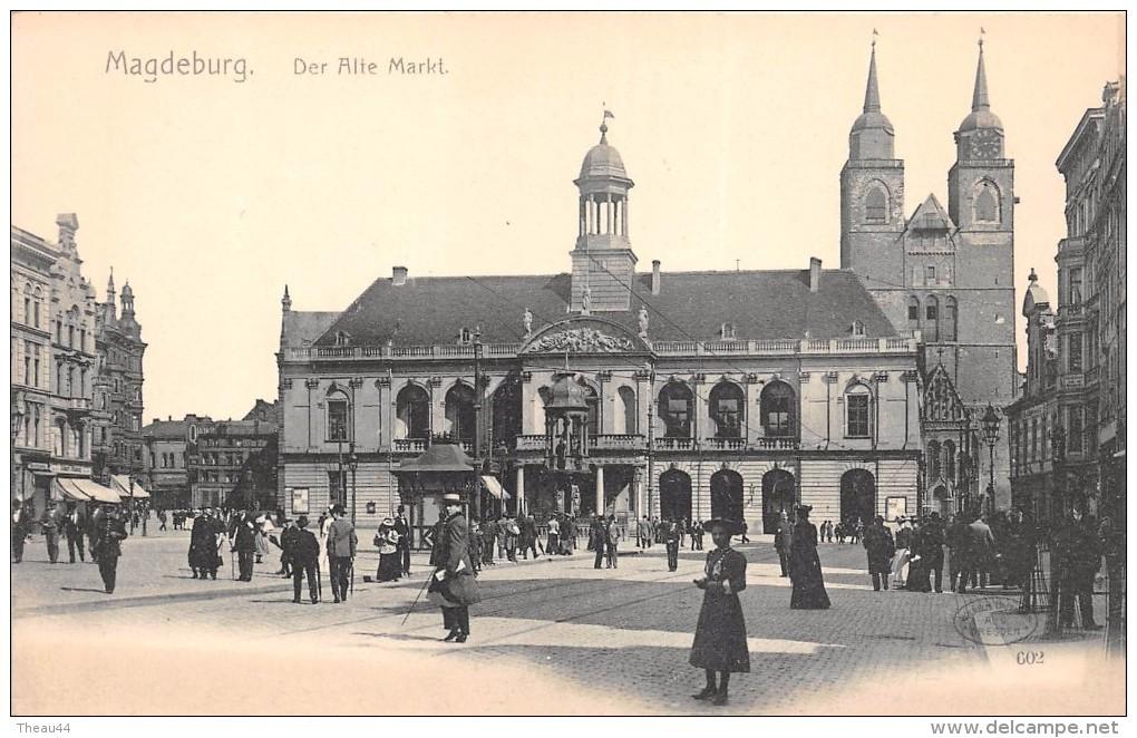 ¤¤  -   ALLEMAGNE   -  MAGDEBURG    -   Der Alte Markt  -   ¤¤ - Magdeburg