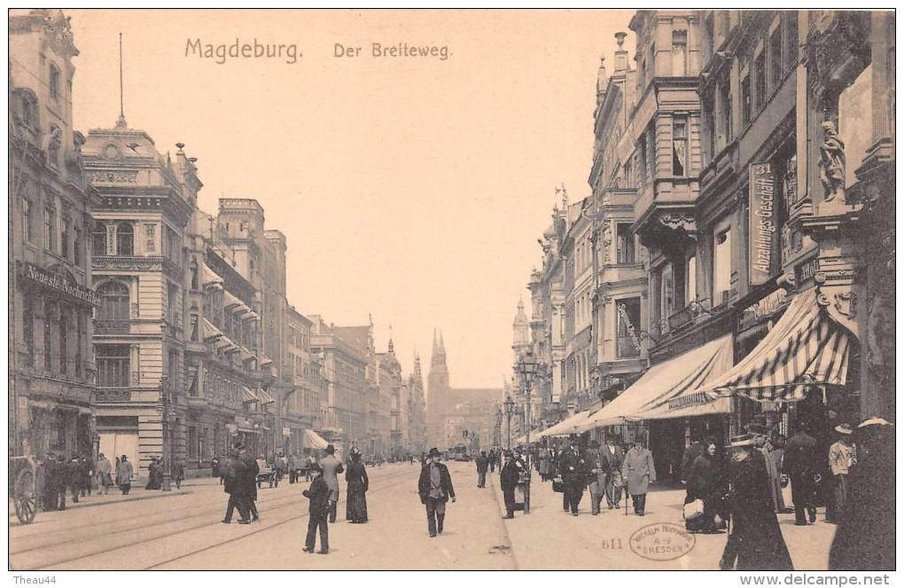 ¤¤  -   ALLEMAGNE   -  MAGDEBURG    -   Der Breiteweg   -   ¤¤ - Magdeburg