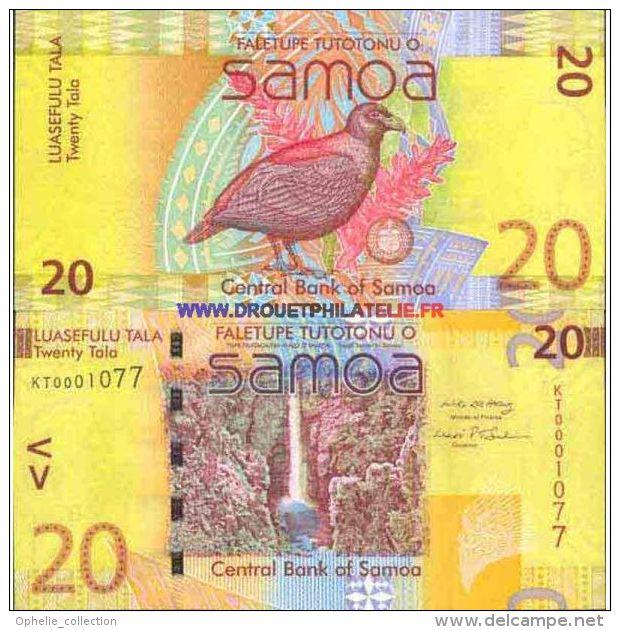 SAMOA 20 TALAS - PICK 40  - TRES BON ETAT - Samoa