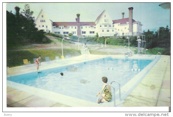 The New Swimming Pool And The Keltic Lodge, Situated At Ingonish In The Cape Breton Highlands National Park - Cape Breton