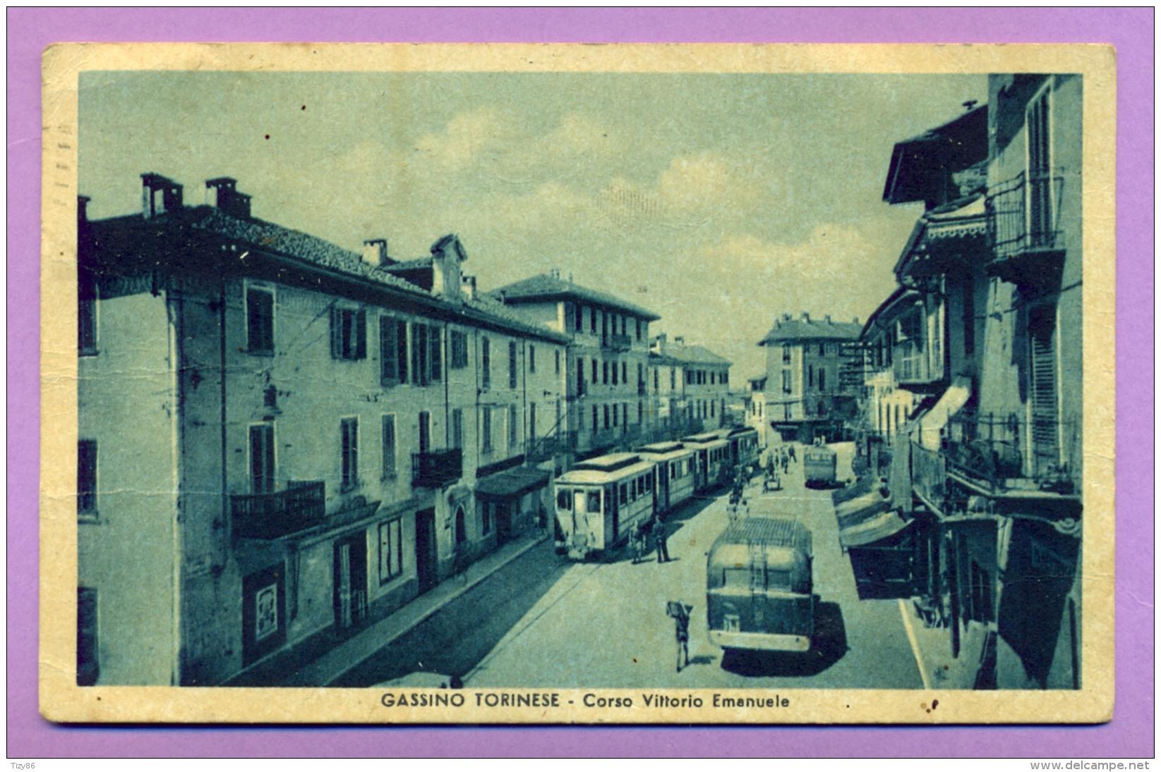 Gassino Torinese - Corso Vittorio Emanuele - Italy