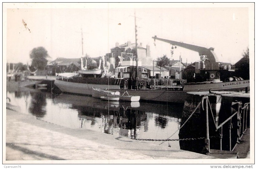"""C P S M Bateau """" Charles Babin """" Phares Et Balises Construit En 1949 Ateliers Chantiers De La Loire Nantes A.C.L - Passagiersschepen"""