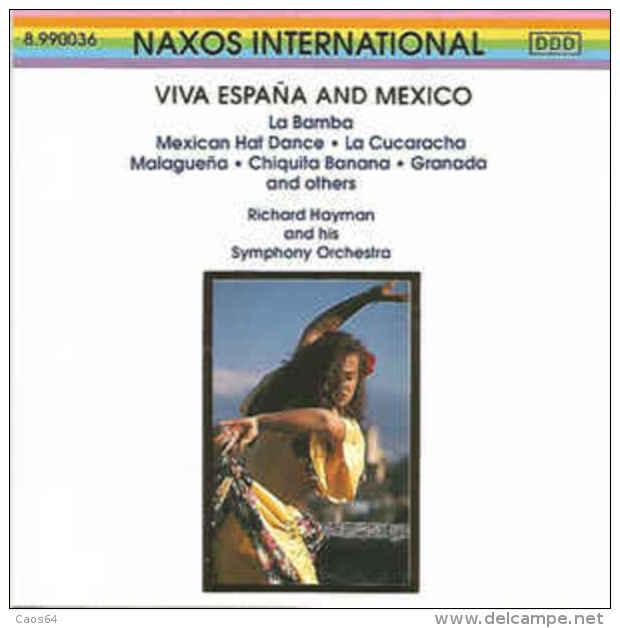 Richard Hayman And His Symphony Orchestra  Viva Espana And Mexico - Country & Folk
