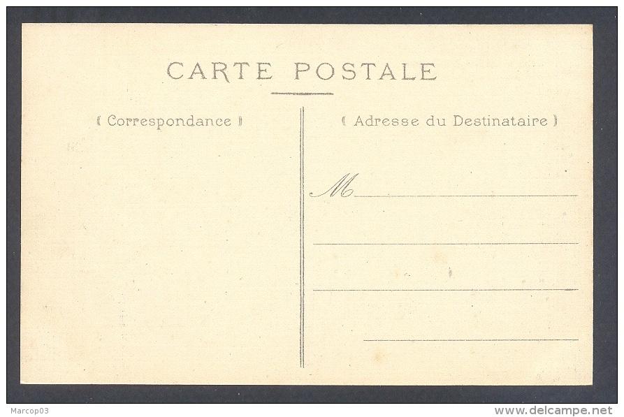 SOMME 80 HALLENCOURT Monument Elevé à La Mémoire Des Soldats Morts 1870-71 Belle Carte Toilée - Frankrijk