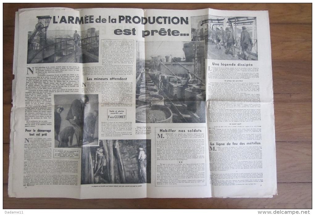 Journal France D''Abord Des Résistants Et Partisans Français  5e Année N°85 - Documents