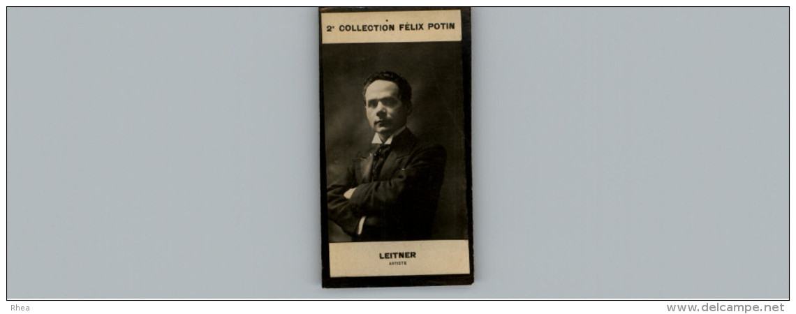 Collection FELIX POTIN - Petite Image - LEITNER - Artiste - Félix Potin