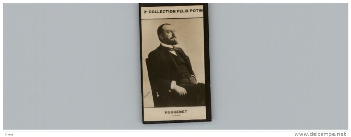 Collection FELIX POTIN - Petite Image - HUGUENET - Artiste - Félix Potin