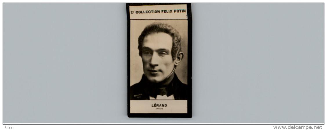 Collection FELIX POTIN - Petite Image - LERAND - Artiste - Photo REUTLINGER - Félix Potin