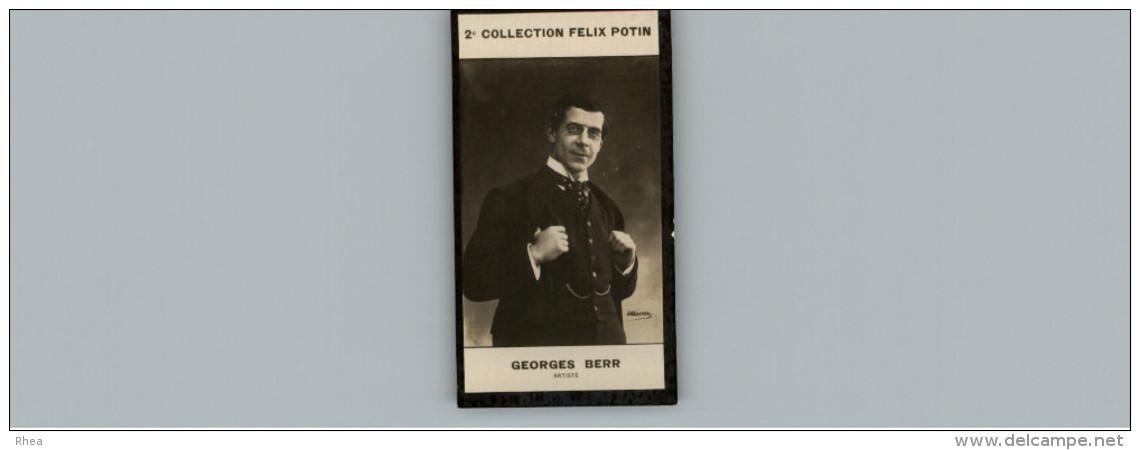 Collection FELIX POTIN - Petite Image - BERR - Artiste - Photo De Verscher - Félix Potin