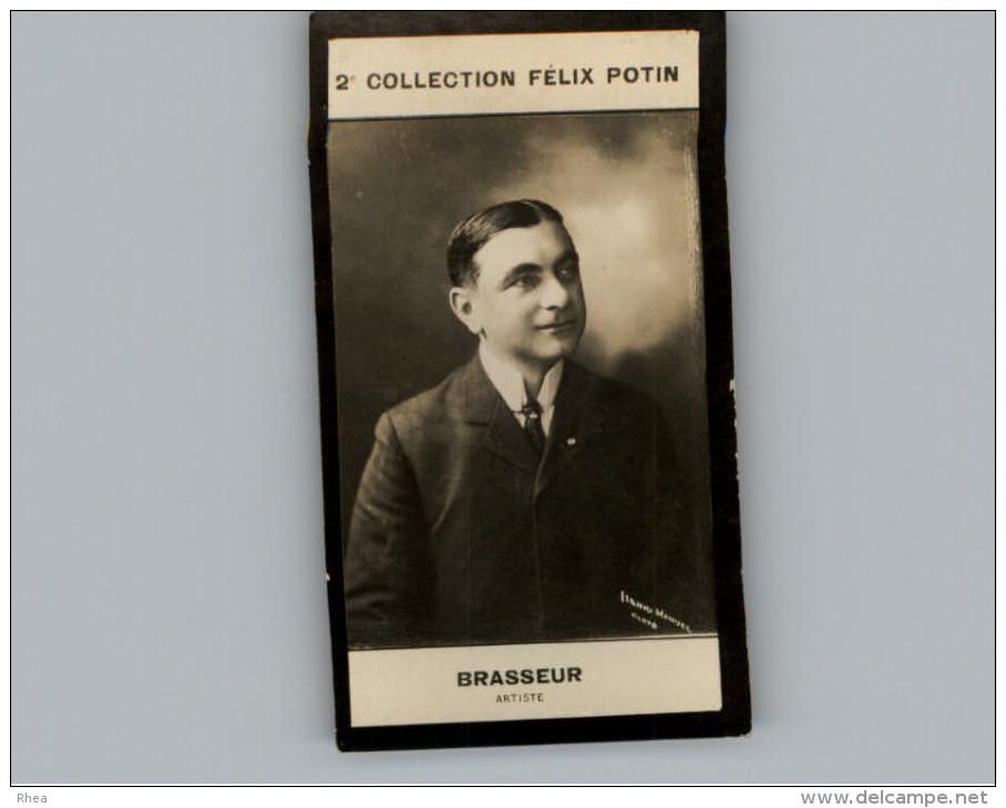 Collection FELIX POTIN - Petite Image - BRASSEUR - Artiste - Photo MANUEL - Félix Potin