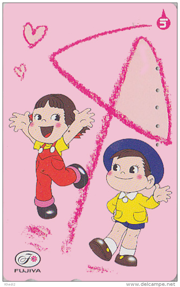 Télécarte Japon / 110-156767 - PEKO & POKO  - BD Comics Japan Phonecard Telefonkarte - 103 - BD