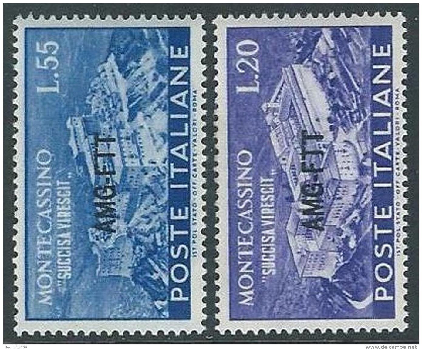1951 TRIESTE A MONTECASSINO MH * - P18-8 - Ungebraucht