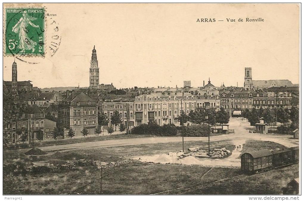 CPA-1910-62-ARRAS-VUE DE RONVILLE-TBE - Arras