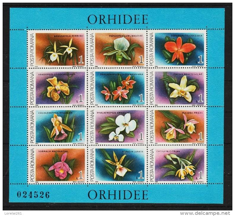 1988 - ORHIDEE Mi No 248 Et 249 - 1948-.... Republiken