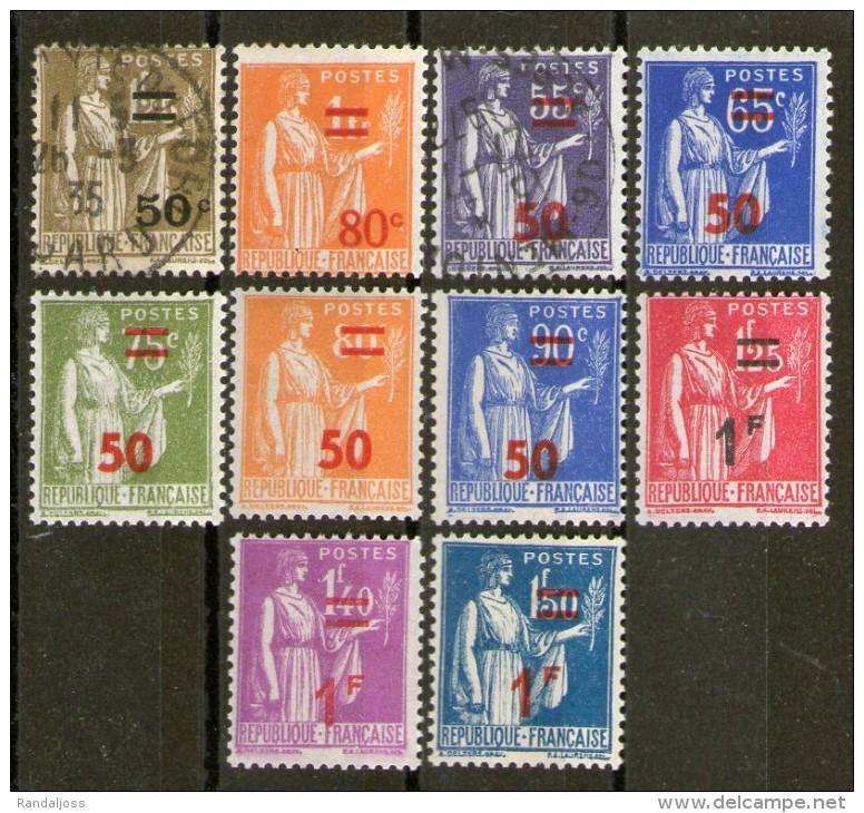 Lot De Neufs** Et Oblitérés_tous Différents_2 Scans - 1932-39 Paz