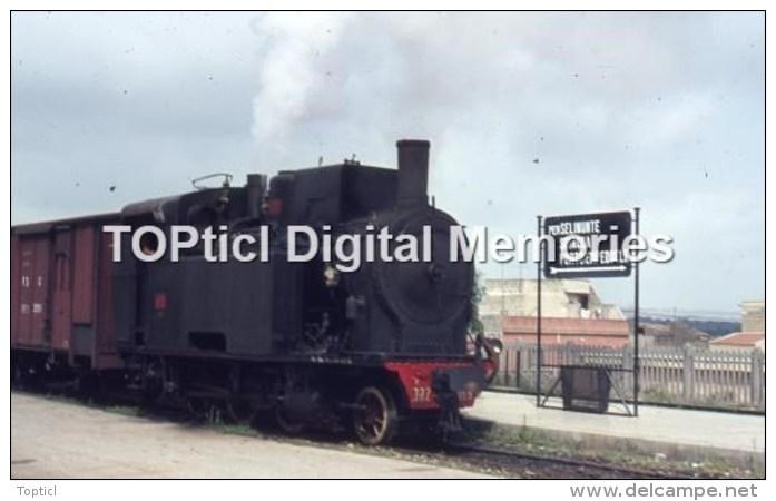 Railway Photo Italy R302 023 Castelvetrano Aug'76 -3 - Riproduzioni