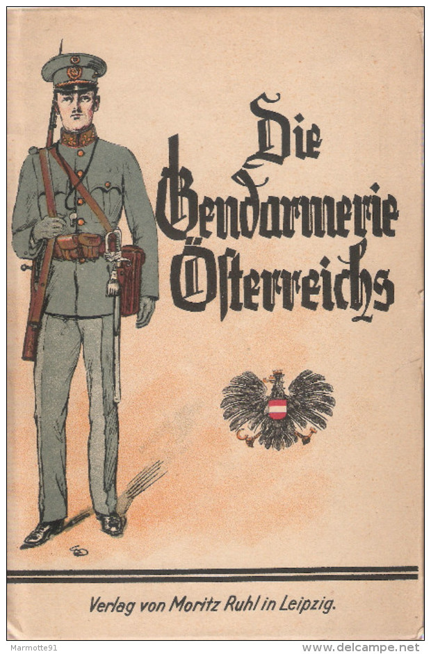 GENDARMERIE OSTERREICHS AUTRICHIENNE AUTRICHE UNIFORME INSIGNE GRADE GUIDE COLLECTION - Books