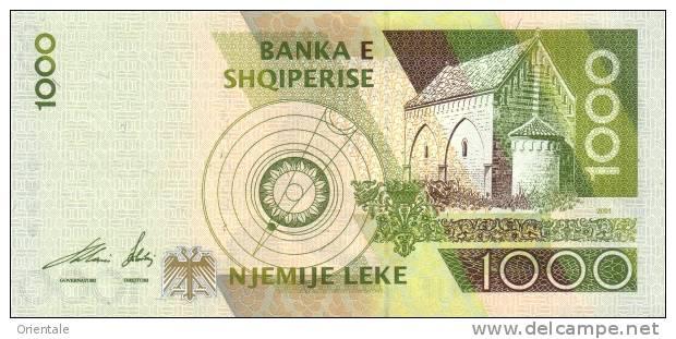 ALBANIA P. 69 1000 L 2001 UNC - Albanie