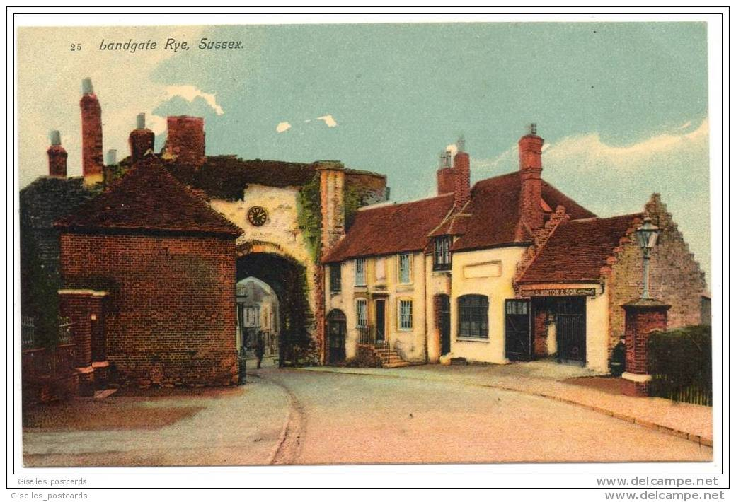 Landgate - Rye - Sussex - Rye