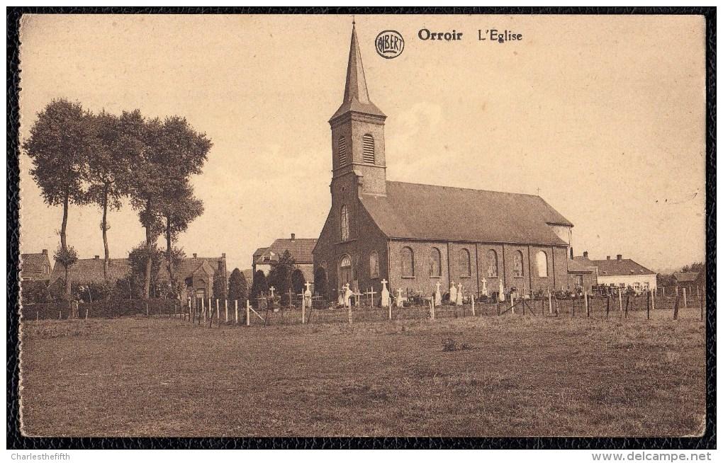 ORROIR - MONT - DE - L´ENCLUS - L´EGLISE ( MONT ENCLUS TOURNAI FRASNES ATH RONSE ) - Kluisbergen