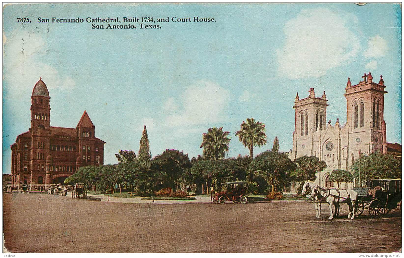 SAN ANTONIO    SAN FERNANDO CATHEDRAL - San Antonio