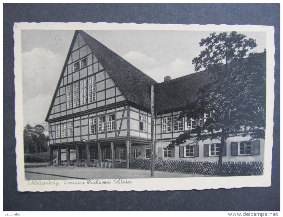 AK KLEINMACHNOW Schleusenkrug 1943 // D*21107 - Kleinmachnow