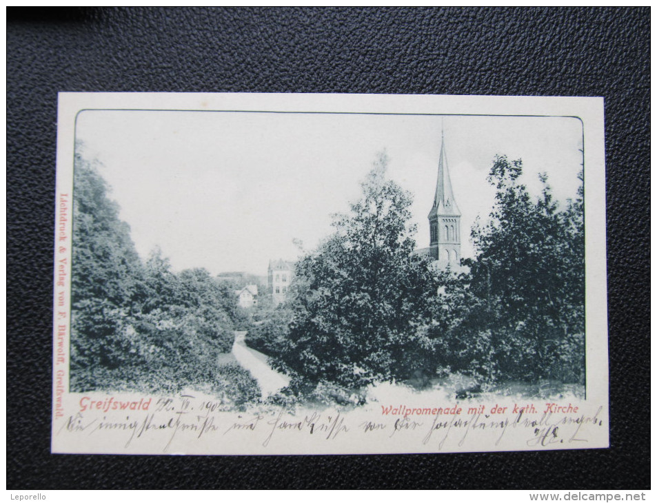 AK GREIFSWALD Ca.1900 /// D*21142 - Greifswald