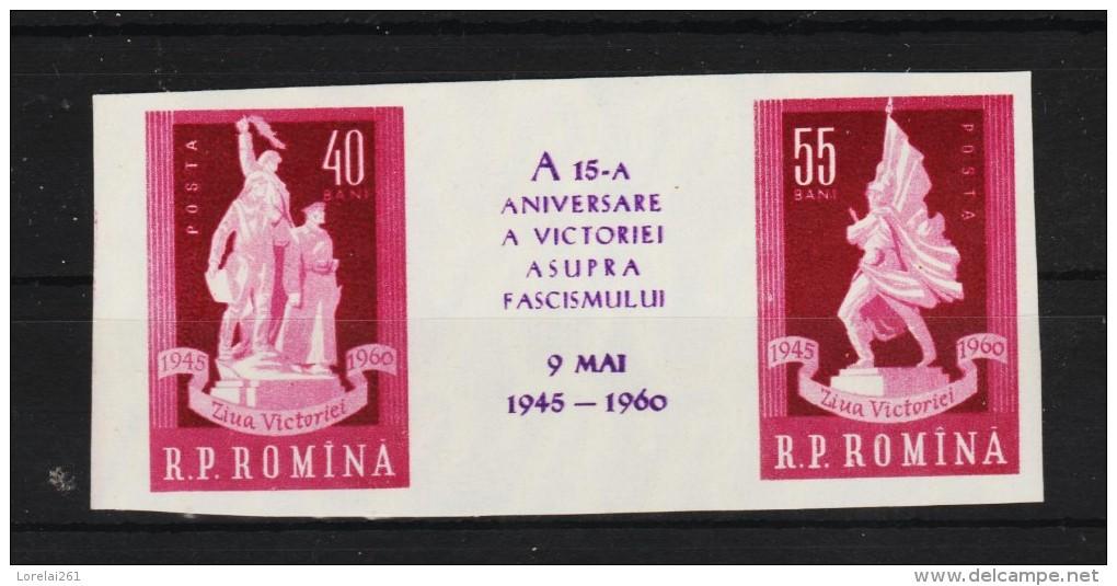 1960 -  15 Anniv De La Victorie Y&T No 1679/1680 Et Mi No 1845/1846 MNH - Ungebraucht