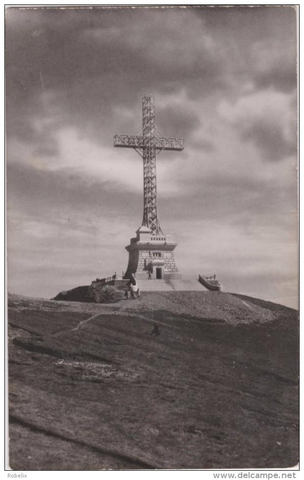 BUSTENI--Monumentul Eroilor-Crucea De Pe Caraiman   Unused  Around 1940 - Roumanie