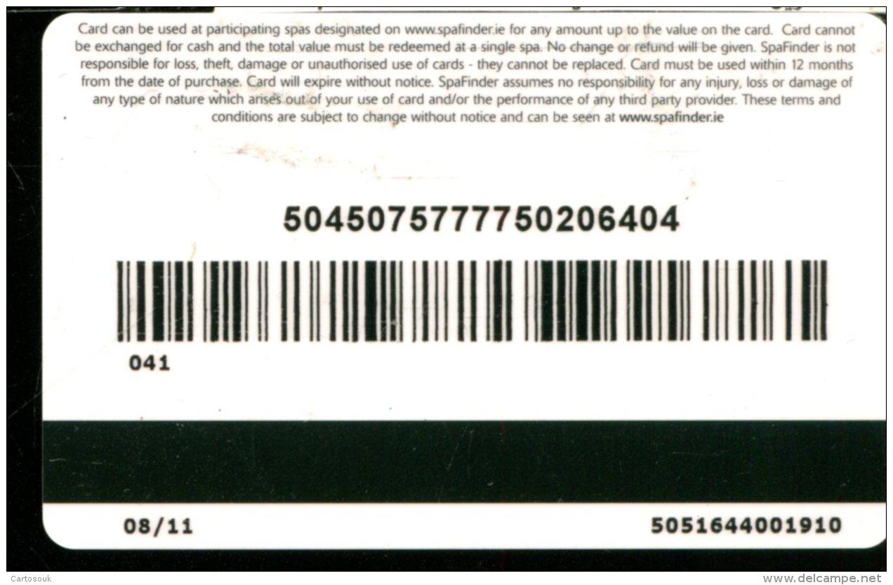 CE5890   CARTE  CADEAU ETRANGERE   A VOIR - Cartes Cadeaux