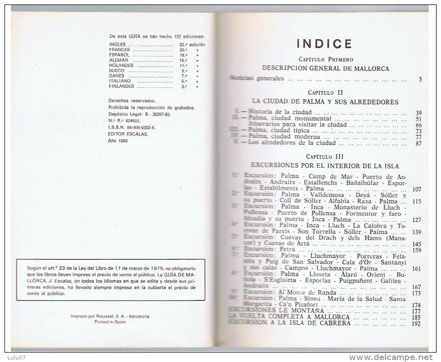 GUIA  DE MALLORCA    J  Aquilo 1975 - Livres, BD, Revues