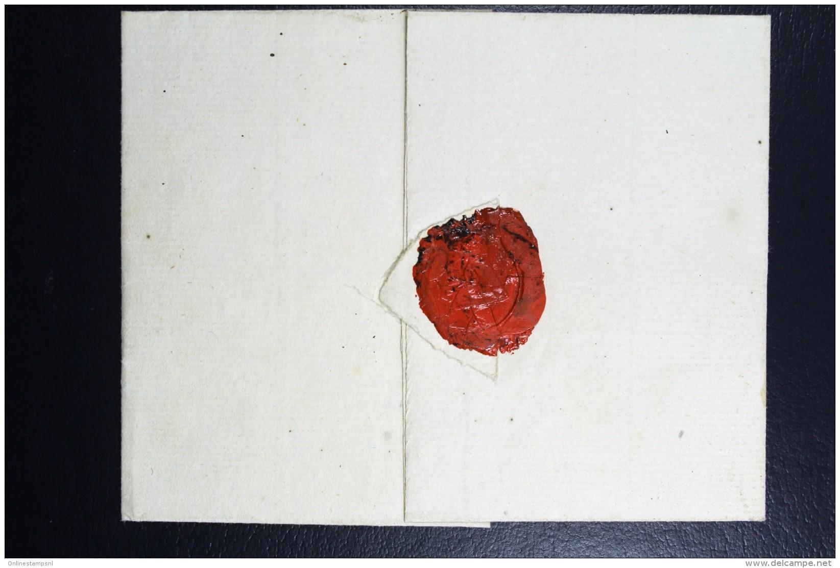 Cover 1793  Naar De Weeskamer Kaap De Goede Hoop - Niederlande