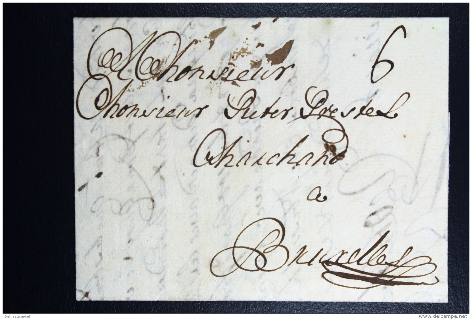 Complete Letter 1731  Rotterdam Bruxelles - Niederlande