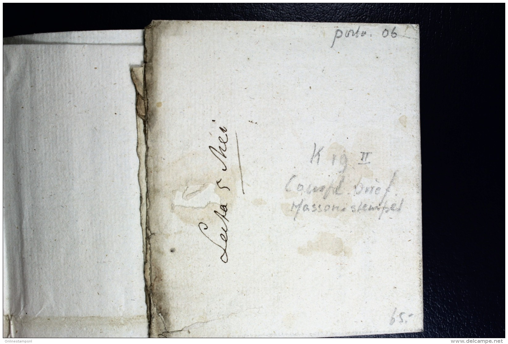 Complete Letter 1815 LEUWARDEN  (K19II) Naar Koudum, Politie Brief - Niederlande